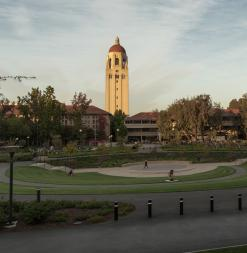 Hoover Tower on Stanford Campus